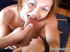 Amber Gets Two Loads of Cum