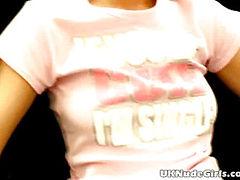 Pigtailed amateur British teen honey Britney