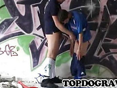 Euro twink soccer player got rewarded by his coach