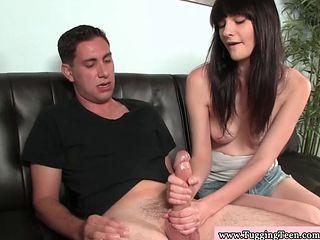 Skinny Teen Amateur Jerking Dick