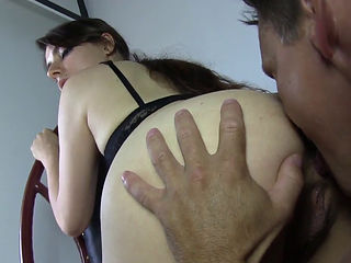22yr old torie getting her ass eaten by some pervert 1