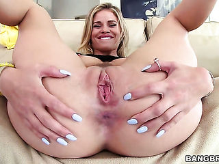 Blonde Jessa Rhodes gets drenched in cum on cam for your viewing entertainment