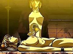 Hentai orgy in full play