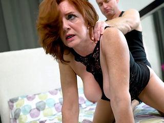 Fucking middle aged aged women