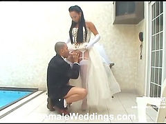 Carla frisky shemale bride