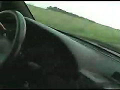 Lesbian Cop Sucks Driver