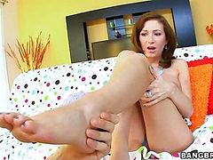 Feet Fucking Hillary Scott