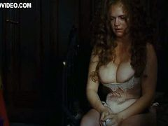 Busty Katarzyna Figura Abused by Old Man