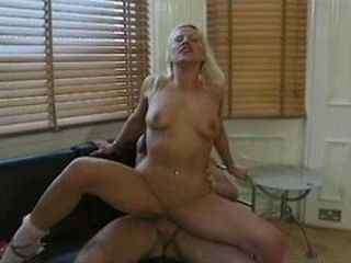 Exotic pornstar Georgette Nealle in incredible blowjob, facial adult scene