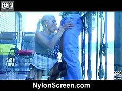 Hannah&Benjamin horny nylon video