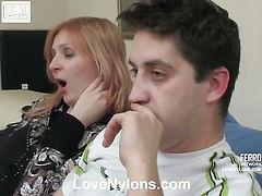 Olivia&Rudolf naughty nylon movie