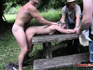 Naked Images Tushy double penetration